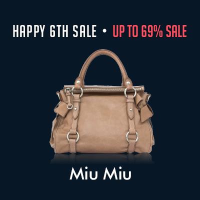 Happy 6th Sale: Miu Miu