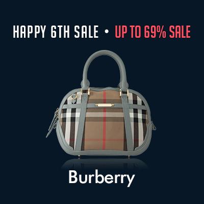 Happy 6th Sale: Burberry