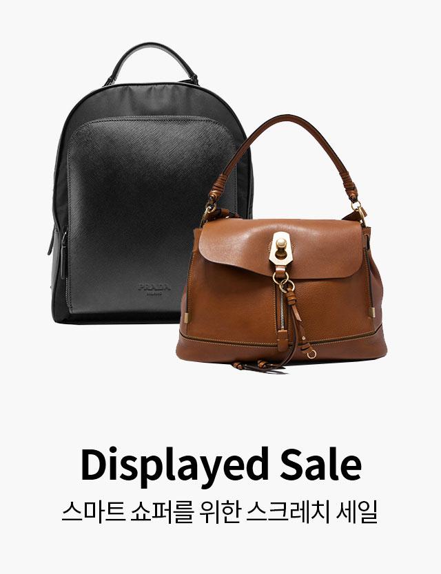 Displayed Sale