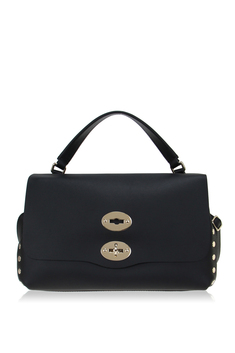 ZANELLATO Postina Original Silk Small Bag - Black