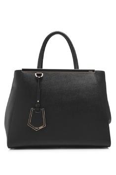 Fendi Shopping 2Jours Medium Tote Bag