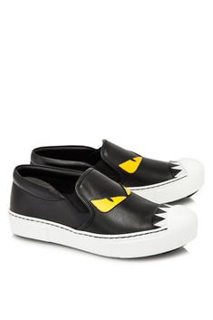 Fendi Bag Bugs Slip On Sneakers